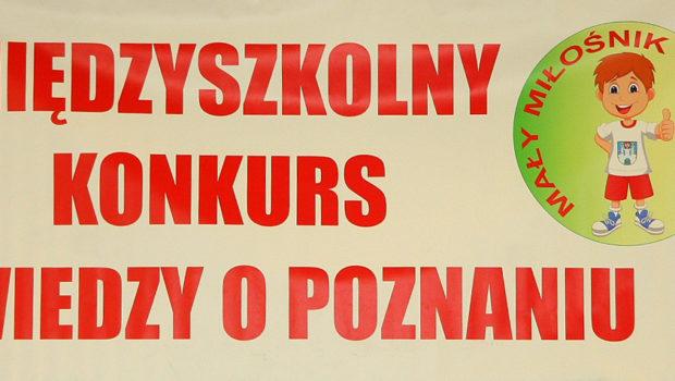 IV Międzyszkolny Konkurs Wiedzy o Poznaniu